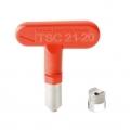 Верхняя разбрызгивающая чистящая насадка от 7-20 до 31-65  Top spray clean nozzle from 7-20 to 31-65