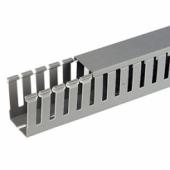 Короб перфорированный, серый RL12 40x40 арт. 00134RL